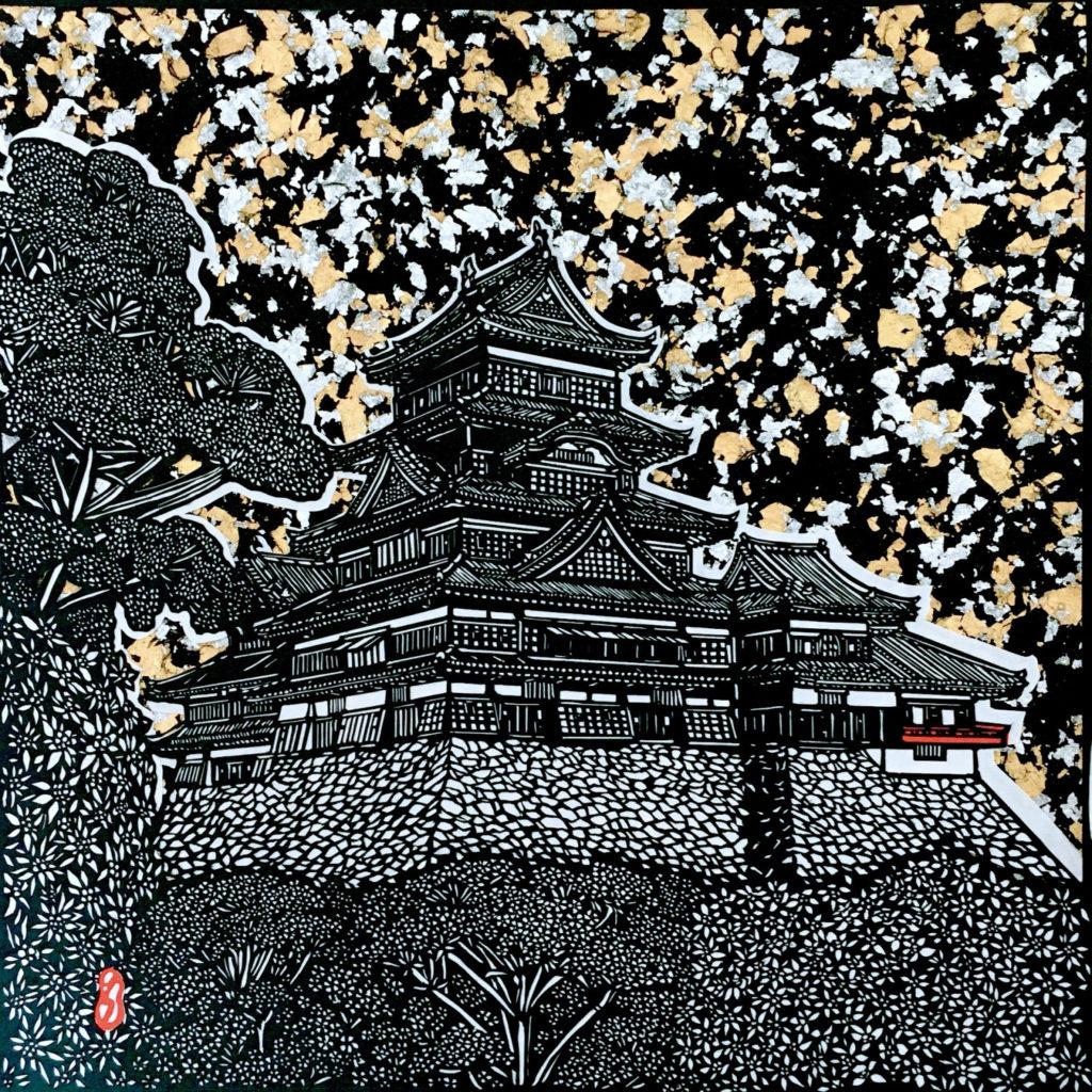お城 松本城